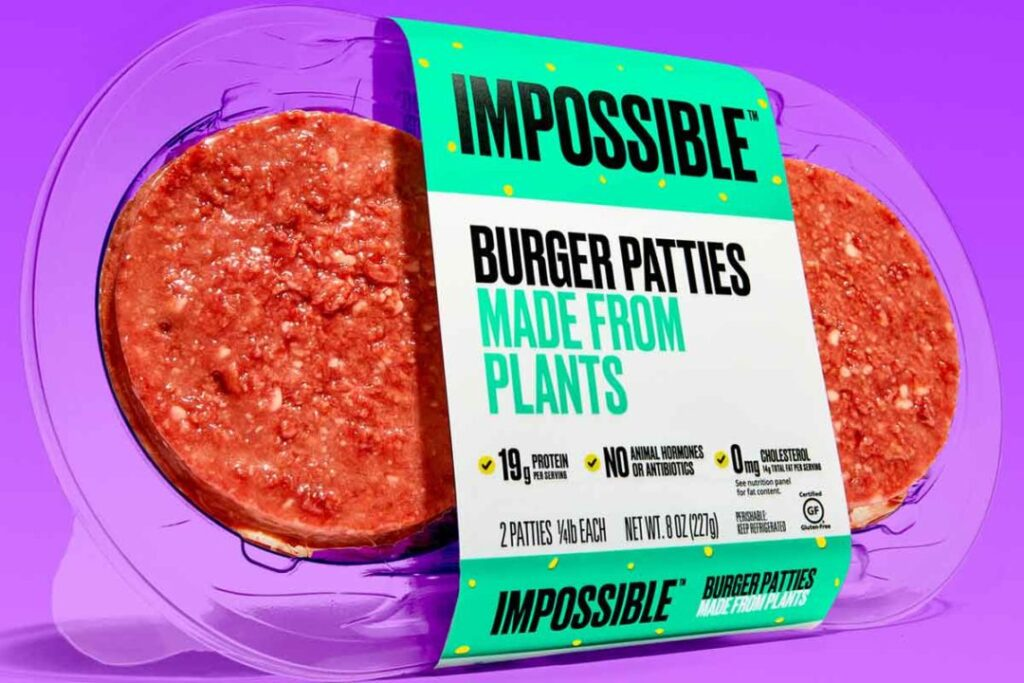 Impossible Foods Burger Picture